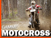 Gamme motocross